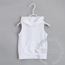 Infant vest sweatshirt hoodie