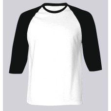 81c0f24ac Men Baseball Middle Sleeves T-shirt (choose a color for the sleeves & rib