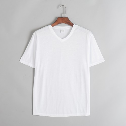 Plain V Neck T Shirts Women S