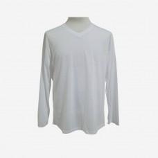 T-shirt men V neck long sleeve