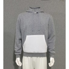 Hoodie with White Pocket for Sublimation