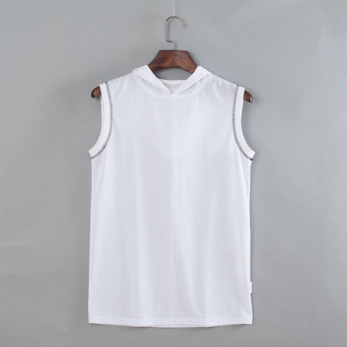 Hoodie tank top t-shirt French Terry Fabric