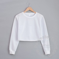 Girls crop top Sweatshirt 6-16T