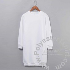 Long sweatshirt oversize dress