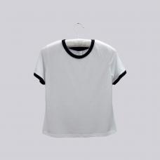 Women Ringer Short Sleeves T-Shirt