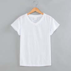 Cotton-Feel Poly  V neck Women Connie T-Shirt