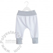 Toddler Harem Pants French Terry Polyester 220