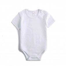 Baby body romper short sleeves with snaps