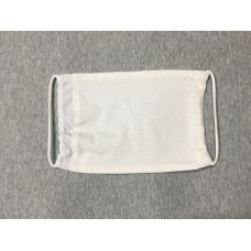 Mask Double Layer Polyester Sublimation Blank With Pocket