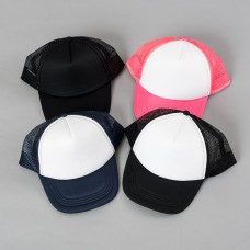 Adult Sponge Cap with Mesh Design