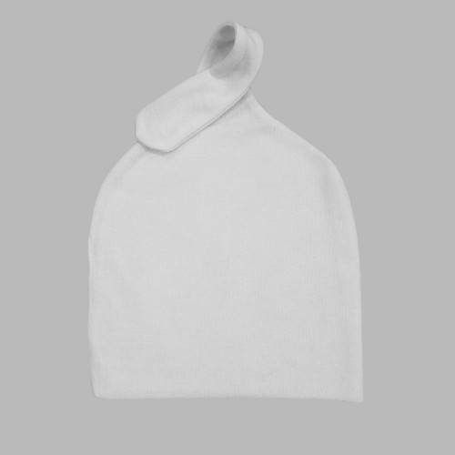 Knot Baby beanie Polyester Cotton-Feel one layer