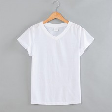 V neck poly shirts (women) Connie short sleeves